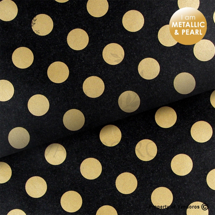 Pearl-Onyx-Black_Gold-Wrapping-Paper