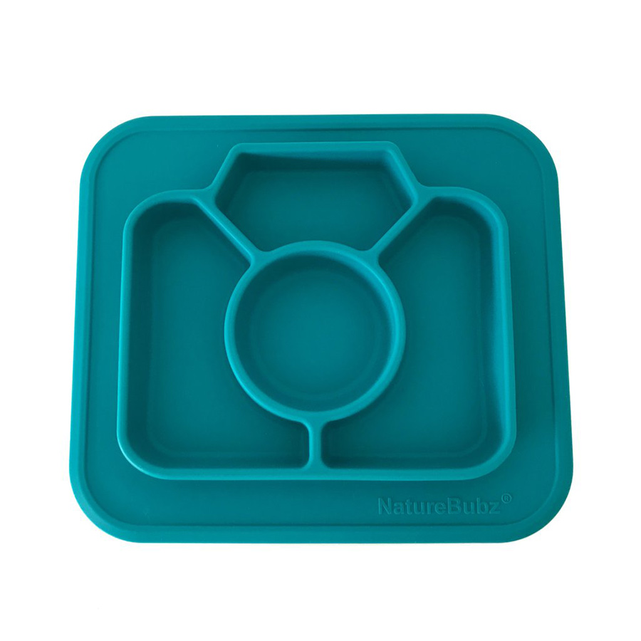 Silicone-Divided-Camera-Plate-Teal
