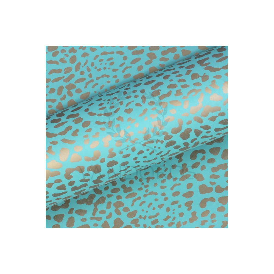 Turquoise-Leopard-Gift-Wrap